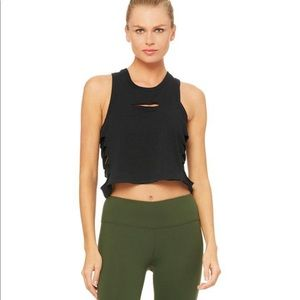 Alo Yohga Cut It Out Crop Tank